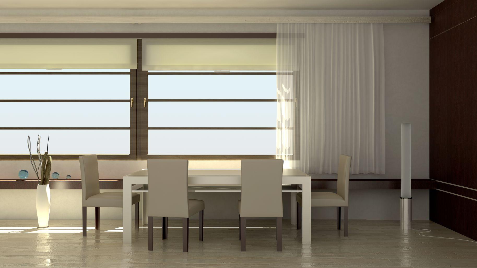 Iore italia profilati alluminio per tende di alta - Tende sala da pranzo ...